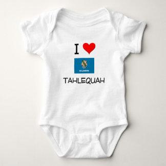 I Love Tahlequah Oklahoma Infant Creeper