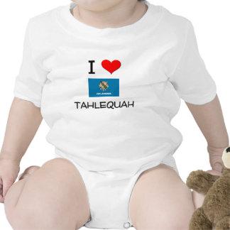 I Love Tahlequah Oklahoma Tshirt