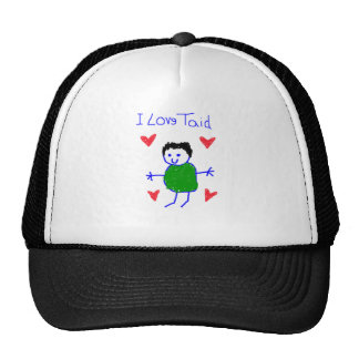 I Love Taid Trucker Hat