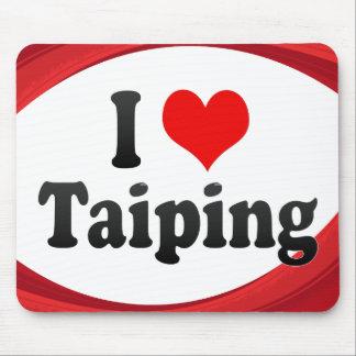 I Love Taiping Malaysia Mouse Pads