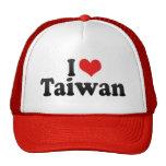 I Love Taiwan Hat