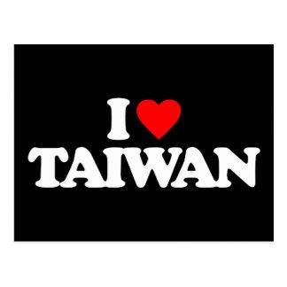 I LOVE TAIWAN POSTCARD