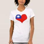 I Love Taiwan Shirt