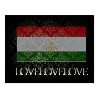 I love Tajikistan Cool Postcard
