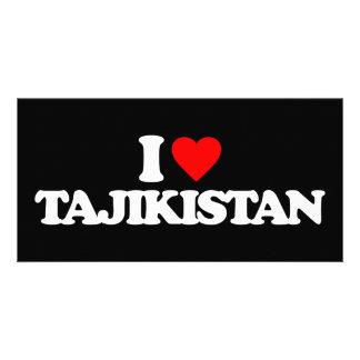 I LOVE TAJIKISTAN PHOTO CARDS