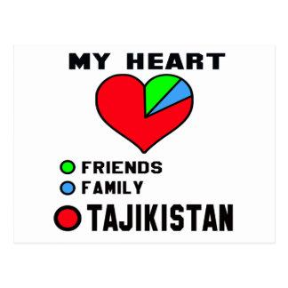 I love Tajikistan. Postcard