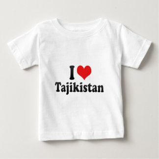 I Love Tajikistan T-shirts