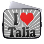 I love Talia Computer Sleeves