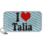 I love Talia iPod Speaker