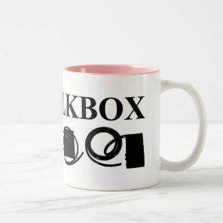 I LOVE TALKBOX 2 Tone Mug (6 Color)