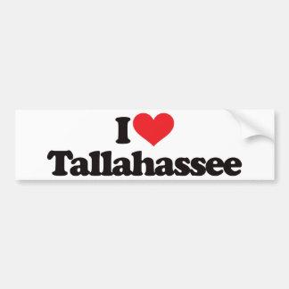 I Love Tallahassee Bumper Sticker