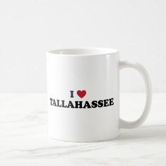 I Love Tallahassee Florida Basic White Mug