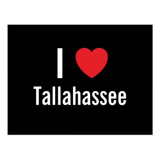 I love Tallahassee Postcard
