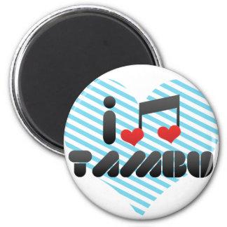 I Love Tambu Refrigerator Magnets