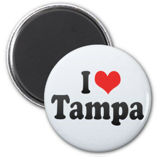 I Love Tampa Magnet