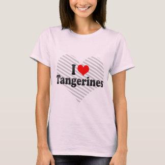 I Love Tangerines T-Shirt