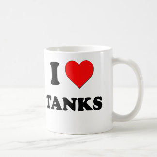 I love Tanks Coffee Mug