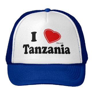 I Love Tanzania Cap