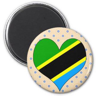 I Love Tanzania Fridge Magnets
