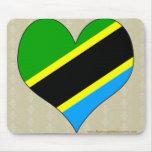I Love Tanzania Mousepad
