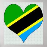 I Love Tanzania Print