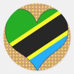 I Love Tanzania Sticker