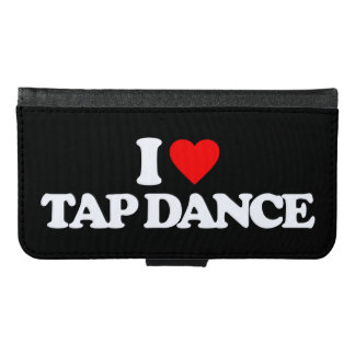 I LOVE TAP DANCE SAMSUNG GALAXY S6 WALLET CASE