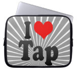 I love Tap Laptop Sleeves