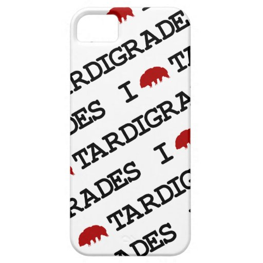 I Love Tardigrades iPhone 5 Case