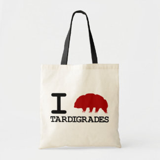 I Love Tardigrades Tote Bag