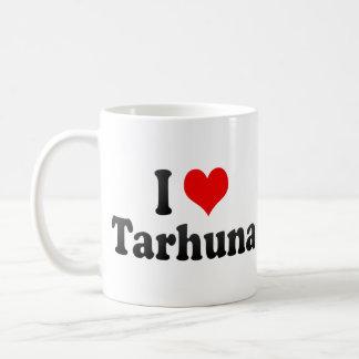I Love Tarhuna, Libya Basic White Mug