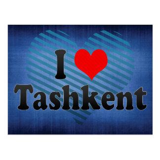 I Love Tashkent, Uzbekistan Postcard
