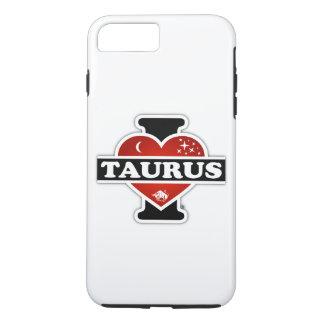 I Love Taurus iPhone 7 Plus Case