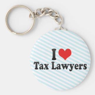 I Love Tax Lawyers Key Ring