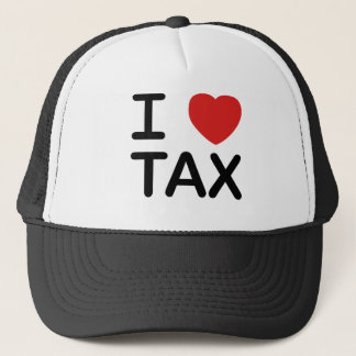 I Love Tax Trucker Hat
