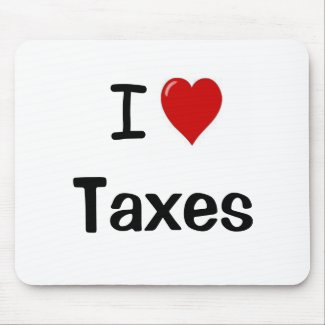 I Love Taxes - I Heart Taxes