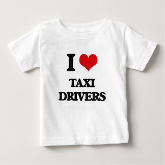 I love Taxi Drivers Baby T-Shirt