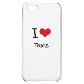 I love Taxis iPhone 5C Case