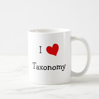 I Love Taxonomy Coffee Mug
