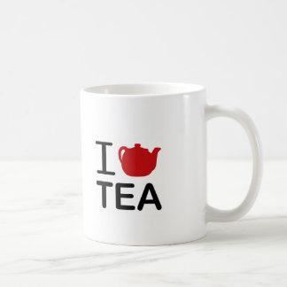 I Love Tea Basic White Mug