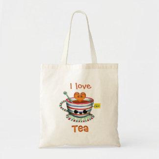 I love Tea Budget Tote Bag