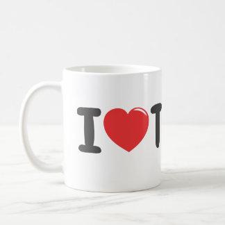 I love tea coffee mug