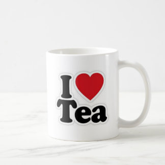 I Love Tea Coffee Mug