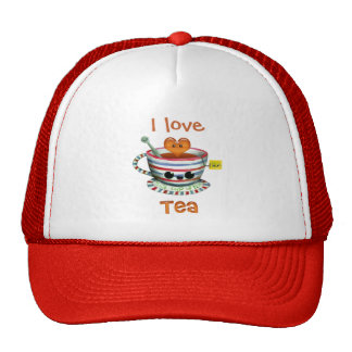 I love Tea Hat