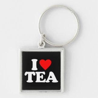 I LOVE TEA KEYCHAINS
