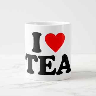 I LOVE TEA LARGE COFFEE MUG