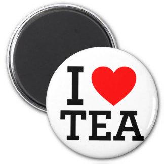I Love Tea Fridge Magnet