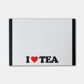 I LOVE TEA POST-IT® NOTES