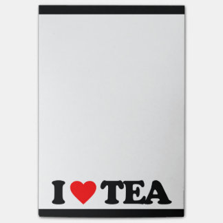 I LOVE TEA POST-IT® NOTES