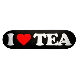 I LOVE TEA SKATE BOARD DECKS